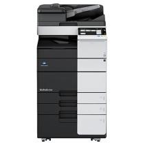 柯尼卡美能达 KONICA MINOLTA 复印机 458e 含双面同步输稿器、内置双面器、双纸盒、排纸处理器、原装工作柜