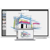 三星 SAMSUNG 55英寸智能会议平板/交互式电子白板 WM55H 壁挂式