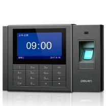 得力 deli 指纹考勤机 3758  智能互联网 异地 分店考勤统一管理 WiFi连接入网