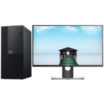 戴尔 DELL 台式电脑套机 3060MT E2016H 19.5寸 I3-8100 4GB 1TB DVDRW 集显 DOS 3年保修