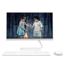 联想 lenovo 一体台式机电脑 AIO520C-24联想致美520 23.8英寸 (白色) 酷睿9代 标配I5-9400 8G 1T机械 WiFi蓝牙