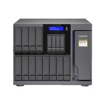 威联通 QNAP 存储服务器 ts-1677X-1700-16G (希捷_10T_企业级*12+三星_500G SSD*5+施耐德 BR1000G)