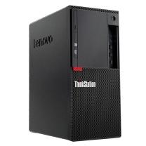 联想 lenovo 台式工作站套机 Thinkstation P318 19.5英寸 i3-7100 4G 1TB DVDRW Win10-home 五年上门