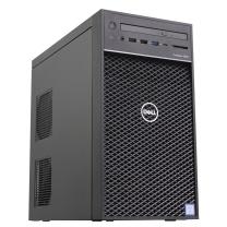 戴尔 DELL 塔式工作站 T3630 i7-9700 8核 2*16G M.2 512G 散热器 集显 鼠标 无RAID 21.5英寸 E2216H