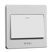 公牛 BULL 开关面板 G07K112C  开关插座 G07系列 一开双控开关 86型 白色 暗装
