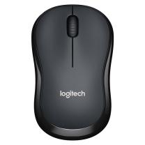 罗技 Logitech 无线静音鼠标 M220 (灰色)