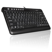 双飞燕 A4TECH 有线键盘 KL-5 (黑色) USB