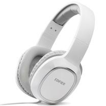 漫步者 EDIFIER 头戴式耳麦 K815P (白色) 配一分二转接线