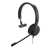 捷波朗 Jabra 统一通信耳麦 EVOLVE 20 MS Mono 单耳 USB接口  可调音量/闭音/挂接/降噪 微软认证