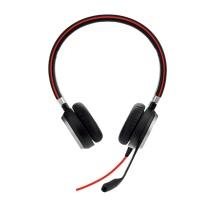 捷波朗 Jabra 统一通信耳麦 EVOLVE 40 MS Stereo 双耳 USB+3.5mm接口  可调音量/闭音/挂接/降噪 智能切换 微软认证
