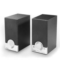 漫步者 EDIFIER 木质多媒体音箱 R18T 2.0声道 (黑色)