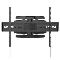 乐歌 电视机支架旋转伸缩壁挂电视架子 L1A (黑色) (47-84英寸)大尺寸电视挂架