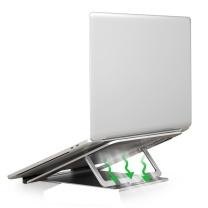 绿巨能 笔记本支架 H6 笔记本支架 6档可调节升降桌 可折叠便携式创意散热器 笔记本电脑置物架 铝合金平板支架