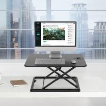 乐歌 站立式升降桌电脑桌 MN1  超薄雅黑