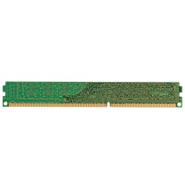 金士顿 Kingston 台式机内存 DDR3 1600 4G  标压版