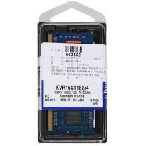 金士顿 Kingston 笔记本内存 DDR3 1600 4G  1.5v电压