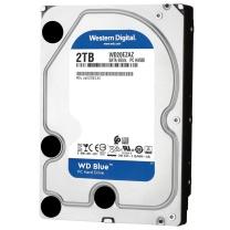 西部数据 WD 台式机硬盘 WD20EZAZ 蓝盘 2TB  SATA6Gb/s 256MB