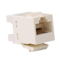 康普 COMMSCOPE 模块 8-1375191-1 原装 超五类 非屏蔽 象牙白