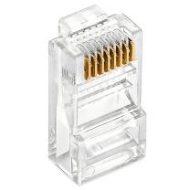 丽贴 8芯网线水晶头 LN-SJT05 100颗/盒