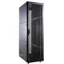 图腾 TOTEN 机柜 K36242 网络机柜 42U加厚服务器机柜2米 交换机网格门 UPS机柜 (加一个托盘和一个8位PDU)