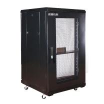 辉腾 机柜 H1.6624 (黑色) 600*600*1200 网孔前门