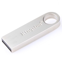 金士顿 Kingston U盘 DataTraveler SE9 32GB (银色) 金属 USB2.0