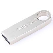 金士顿 Kingston U盘 DataTraveler SE9 32GB (银色) 金属