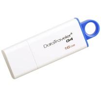 金士顿 Kingston U盘 DTIG4 16GB (蓝白) USB 3.0
