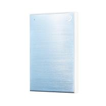 希捷 Seagate 移动硬盘 STHN1000402 1T (冰月蓝) USB3.0睿品新版铭 兼容Mac 时尚金属拉丝面板 便携 自动备份 高速传输