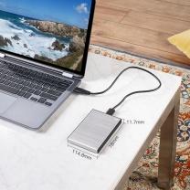 希捷 Seagate 移动硬盘 STHN2000401 2TB (皓月银) USB3.0睿品新版铭 时尚金属拉丝面板 高速传输 自动备份 轻薄 兼容Mac