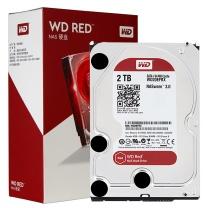 西部数据 WD 企业级硬盘 WD20EFRX 2TB  SATA6Gb/s 64M 网络储存 红盘