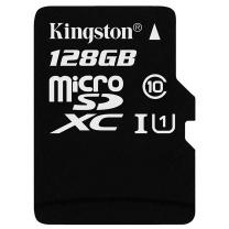 金士顿 Kingston TF存储卡 SDCS 128G  读速80MB/秒 写速10MB/秒