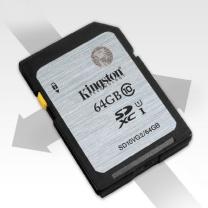 金士顿 Kingston SD存储卡 SD10VG2 64GB  UHS-I 80Mb/s