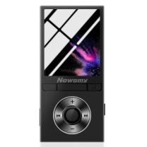 纽曼 Newsmy MP3/MP4 F35 8G 无损 音乐播放器迷你学生随身听有屏插卡录音笔MP3 黑色