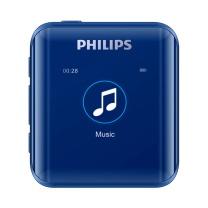飞利浦 PHILIPS MP3播放器 SA2816 (蓝) 时尚HIFI