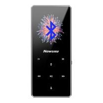 纽曼 Newsmy mp3/mp4音乐播放器 A66 8G (灰) 无损 迷你随身听学生便携HIFI 带触摸 蓝牙版