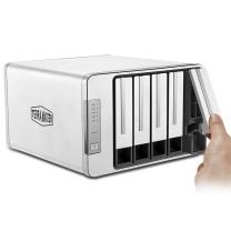 铁威马 磁盘阵列盒 D5-300 5盘位RAID 20TB 4T*5