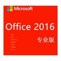 微软 Microsoft 应用软件  Office2016专业版
