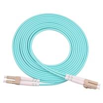 优普连 单模多模光纤跳线  LC-SC-ST-FC尾纤电信级方转圆1/2/3M/5米光钎延长线 OM3万兆多模双芯LC-LC 10米