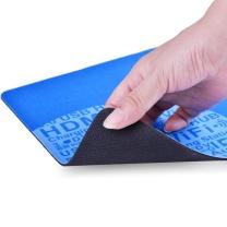 绿联 UGREEN 绿联 鼠标垫 加大加厚办公家用鼠标垫黑色橡胶创意个性电竞游戏鼠标垫英雄联盟lol吃鸡绝地求生 蓝色-标准款