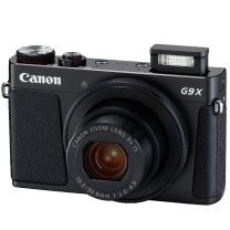 佳能 Canon 数码相机 PowerShot G9X Mark II 2010万有效像素 DIGIC7处理器 28-84mm变焦 (黑色)