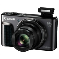 佳能 Canon 数码相机 PowerShot SX720 HS (黑色) 配64G卡