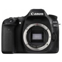 佳能 Canon 单反机身 EOS 80D  (单机身/不含镜头)(16G卡+包)