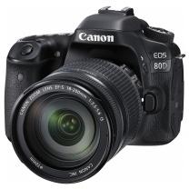 佳能 Canon 单反套机 EOS 80D (EF-S 18-200F/3.5-5.6 IS) (包 16G卡)