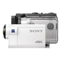 索尼 SONY 数码摄像机 X3000R  运动摄像机 监控套装 4K光学防抖 60米防水壳 3倍变焦