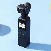 大疆 DJI 云台相机 osmo pocket  标配+128G卡+三脚架延长杆+背包夹+手机架+包
