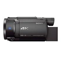 索尼 SONY 家用/直播4K高清数码摄像机 /DV/摄影机/录像机 5轴防抖 约20倍光学变焦(AXP55升级款) FDR-AX60
