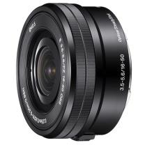索尼 SONY 标准变焦镜头 E PZ 16-50mm F3.5-5.6 OSS  微单镜头