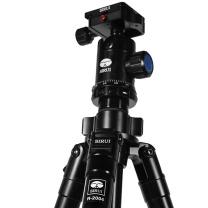 思锐 思锐含云台佳能尼康单反相机三角架铝合金 单反相机三脚架 专业稳定 微单通用 R2004+G20KX