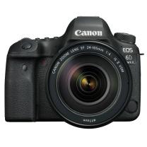 佳能 Canon 单反相机套机 EOS 6D Mark II EF 24-105mm f/4L IS USM 广角镜头套装
